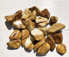 Yellow Jasper Gemstones Tumbled 1/2 Lb Bulk Wholesale