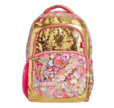 NEW Girls SMIGGLE Bag Limited Edition 15th Birthday Gold Pink Backpack School UK