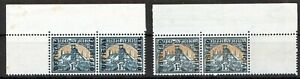 SOUTH AFRICA 1944-49 11/2d OFFICIAL SGO33/O34 CORNERS UNMOUNTED MINT CATS £75+