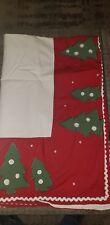 Pottery Barn Holiday Tree Tablecloth