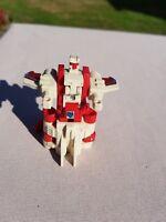 Transformers G1 Technobot Strafe 1987 Vintage Toy Plane Figure Red White Jet