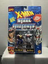 X-MEN STEEL MUTANTS WOLVERINE VS. SAMARAI ACTION FIGURE MARVEL COMICS 1994