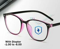 Optical Spectacles Frames Eyeglasses Wear Round Myopia Glass Eye Accessories New