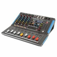 Pyle PMXU46BT 4-Channel Bluetooth Studio Pro Audio DJ Mixer