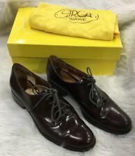 Circa Joan And David 8.5 Brown Leather Oxford Shoes