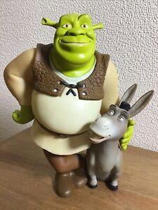 Rare Shrek 2 Shrek & Donkey Figure Grosvenor UK 2004 Collectable Great Gift Idea