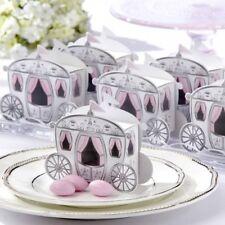 12pk Pink Carriage Wedding Gift Box Favor Candy Bridal Shower Favor Keepsake