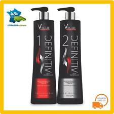 Lissage Bresilien Vogue Definitiv Cheveux Kit Kératine Shampoing Definitif 2x200
