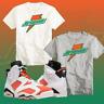 NEW CUSTOM Shirt To Match Retro Nike Air Jordan 6 Gatorade 6 Win Like Mike NIKE