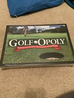 "Golfopoly Board Game ""A Game For People Who'd Rather Be Golfing"""