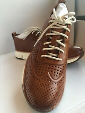 $270.00 COLE HAAN Men's ZeroGrand Laser Perforated Fashion Leather Sneakers 10M