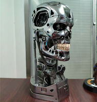 Terminator T800 1/1 Bust Statue T2 Head Sculpt Resin Model GK Collections New