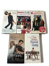 Vhs Lot of 5 - Comedy/Drama Forrest Gump Green Card Americas Sweethearts etc