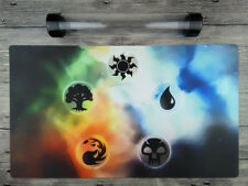 Magic the Gathering Elements Playmat Custom TCG Gamemat Free High Quality Tube