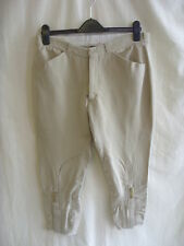 "Ladies Trousers - Kaleidoscope, size 14/EU 40, beige, 15% linen/cotton 22""L 0499"