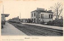 CPA 94 ARCUEIL GARE LAPLACE (train en gare