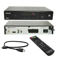 PremiumX HD 520 FTA Digital Sat Receiver DVB-S2 mit HDMI Kabel FULL HDTV 1080p
