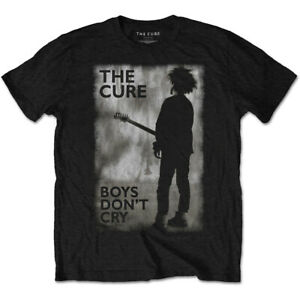 THE CURE Boys Don't Cry Black and White Official T-Shirt Aust Stock