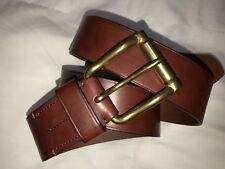 Ralph Lauren Purple Label RRL Vintage Style England Equestrian Leather Belt 34