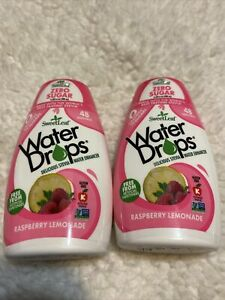Sweetleaf Water Drops 1.62 fl.oz 2 Pack (Raspberry Lemonade 48 Servings - 2 Pkgs