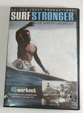 Surf Stronger - The Surfer's Workout Dvd Scott Adams Golden Coast Productions