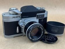 Alpa 6c Camera w/50mm f/1.8 Kern-Macro-Switar AR Black Lens - Rare!