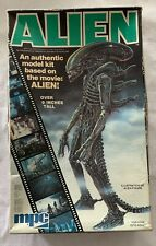 MPC  ALIEN  MODEL FIGURE KIT  ASSEMBLED WITH BOX  1979