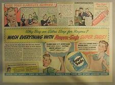 Super Suds Ad: Wash Everything With Rayon Safe Super Suds ! 1940's