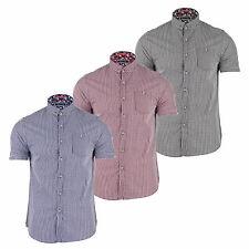 Brave Soul Men's Regular Collared Casual Shirts & Tops