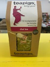 teapigs Chai Tea Temples, 50 Count
