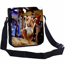 Karate Guinea Pig Small Cross-Body Shoulder Bag Handy Size