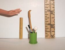 RE-MENT DOLL MINIATURE PENCIL HOLDER GADGET RULER ACCESSORY LOT 1/6 SCALE