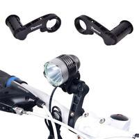 Bicycle Handlebar Extended Bracket Mount Bike Computer Headlight Mount Holder LD