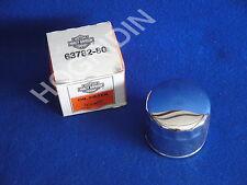 nos Harley shovelhead flh fxwg fxsb fxef sportster chrome oil filter   63782-80