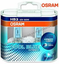 Osram 12v 60w 9005 HB3 Cool Blue Intense 4200k Car Headlight Headlamp Bulbs PAIR