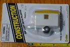Boley HO 185-201478 Single-Axle Site Office Trailer -- white/yellow