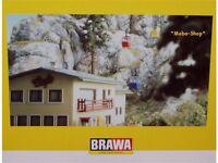 Brawa 6280/6290 Kanzelwand-Seilbahn inclusive Gebäudebausatz            #63540/1