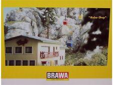 BRAWA 6280 Kanzelwandbahn mit 6290 Gebäude