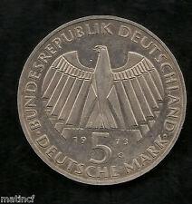Germany Frankfurt Parliament Silver 5 Mark 1973
