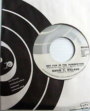 DAVID T. WALKER 45 Hot fun in the Summertime MINT-