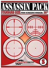 Screen Aiming Targets #1 Seller Cheatergear Quickscope Gaming Crosshair Decal