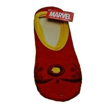 Women's-Slipper-Sock s-Size-4-10-Spiderman-Loki -Thor-Black-Widow-IronMan- 2-Pk Nwt