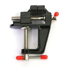 Aluminum Mini Bench Small Jewelers Hobby Clamp On Table Bench Vise Tool Vice #U