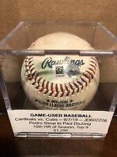 Paul DeJong Game Used Career Home Run #54 Baseball Cardinals RARE JD602226