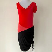 Forever New Red and Pink Dress Size 10