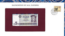 Banknotes of All Nations GDR East Germany 1975 5 Mark UNC P 27a IH008254 Low