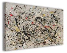 Quadro moderno Jackson Pollock vol IV stampa su tela canvas arredamento poster
