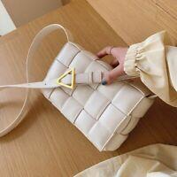 2021 NEW Women Padded cassette bag Clutch Crossbody Shoulder Purse Cloud Pouch