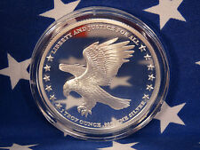 American Patriotic Eagle One Nation Under God US Flag 1oz .999 Silver Coin USA 1