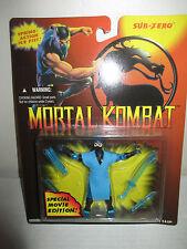 "1994 Gi Joe Mortal Kombat MOC Special Movie Edition 3.75"" Subzero Figure Hasbro"